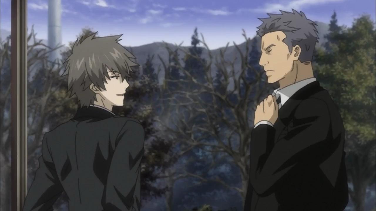 There Psychic Detective Yakumo Kiss