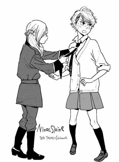 Shimura_2014-12-21_Nina&Slaine