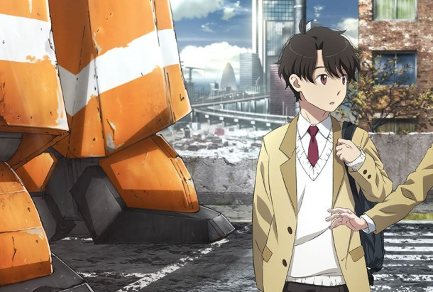 Key Visual II: Kaiduka Inaho at the start of Aldnoah Zero