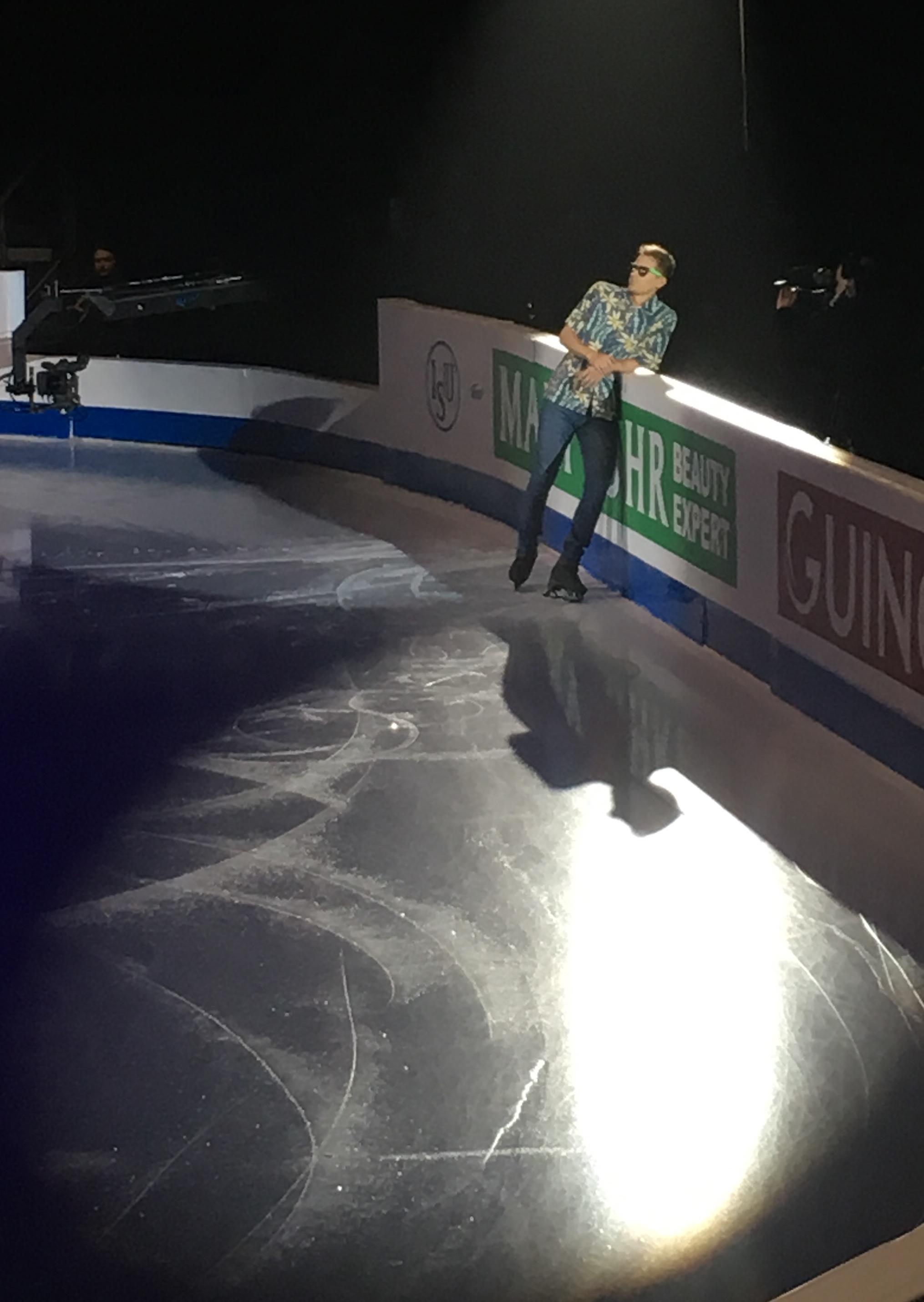 Czech figure skater  Michal Brezina